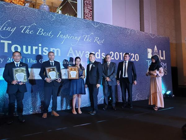Swiss-Belhotel Tuban Win's Back to Back Bali Tourism Awards 2019