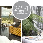ULTIMATE FOREST AND LAKE ESCAPE |  2+2 ... +1 night complimentary