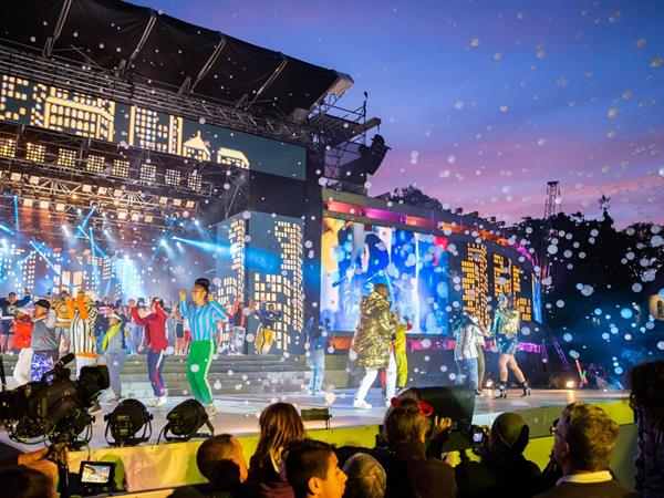 Christmas In The Park.Coca Cola Christmas In The Park 2019 Swiss Belsuites