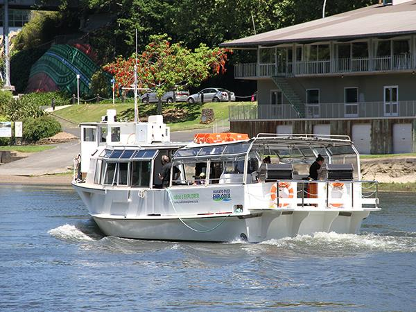 Exclusive Deluxe Lunch & Wine Tasting Cruise Waikato River Explorer