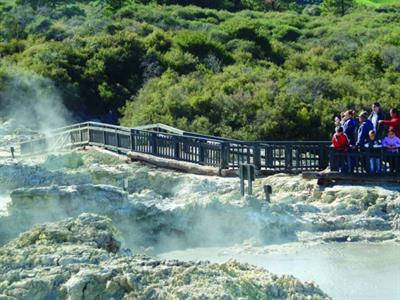 Rotorua - Te Puia & Hells Gate