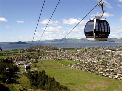 Rotorua - Geothermal Skyline Skyride NZ Shore Excursions
