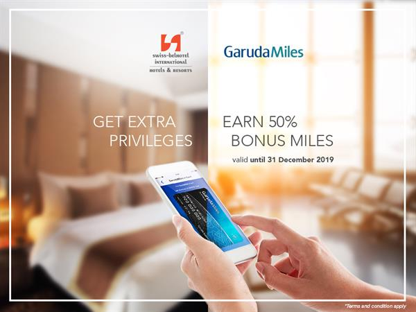 Enjoy GarudaMiles Offers until 31 Dec 2019