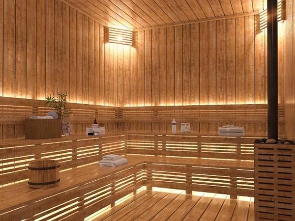 Sauna Swiss-Belsuites Victoria Park, Auckland, New Zealand
