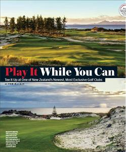 The Kinloch Club, Private Clubs Magazine June 2017, USA The lodge at Kinloch