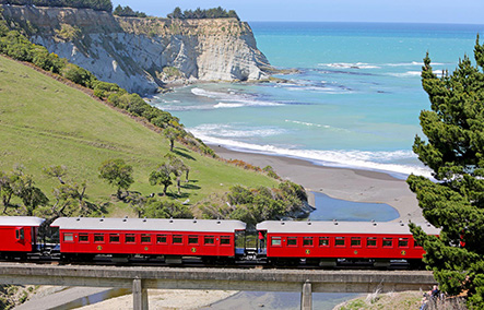 MARLBOROUGH FLYER – STEAM TRAIN, WINE & LUNCH TOUR NZ Shore Excursions