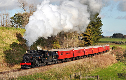 MARLBOROUGH FLYER – STEAM TRAIN TOUR
