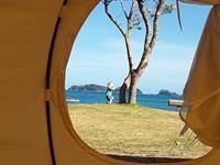 Beachfront Glamping Martins Bay Holiday Park
