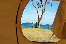 Beachfront Glamping