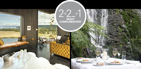 ULTIMATE FOREST AND LAKE ESCAPE |  2+2 ... +1 night complimentary The lodge at Kinloch