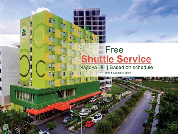 Free Shuttle Service to Nagoya Hill Zest Hotel Harbour Bay Batam