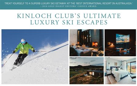 Kincloch's Ultimate Luxury 3 Night Ski Escape