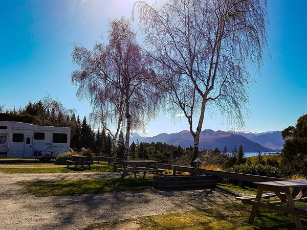 Powered Campsites Mt. Aspiring Holiday Park