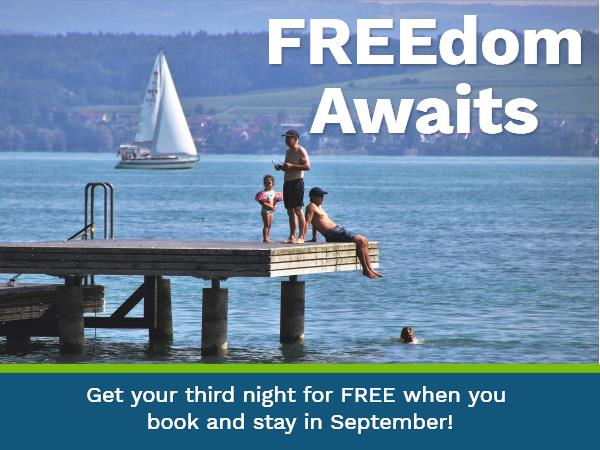 Third night FREE!