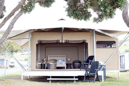 Beachfront Glamping Ecostructure
