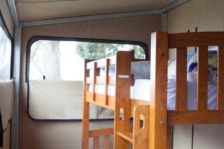 Beachfront Glamping Ecostructure Martins Bay Holiday Park