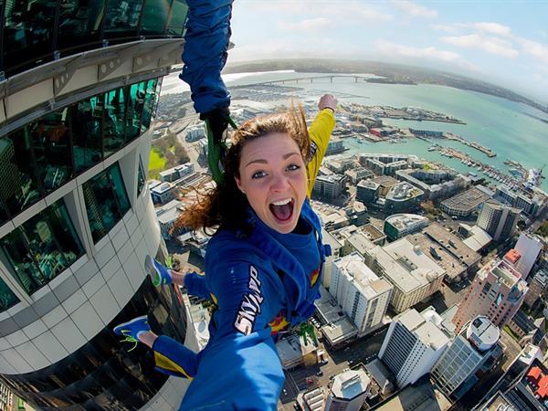 Sky Jump the Sky Tower Zest OK Auckland