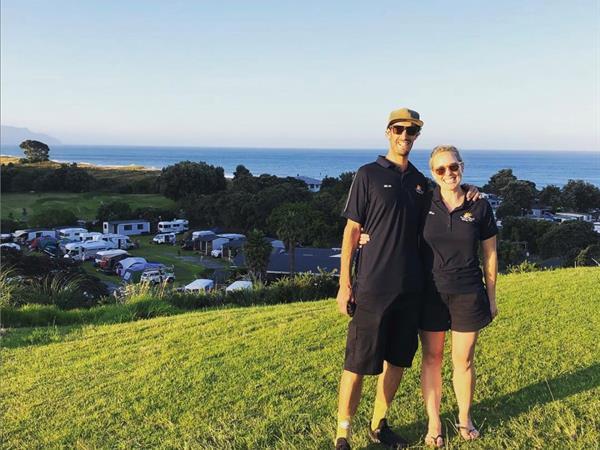 Michael & Rebecca - Proprietors/Managers Bowentown Beach Holiday Park