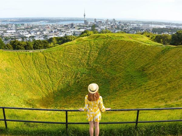 Hike up Mt. Eden