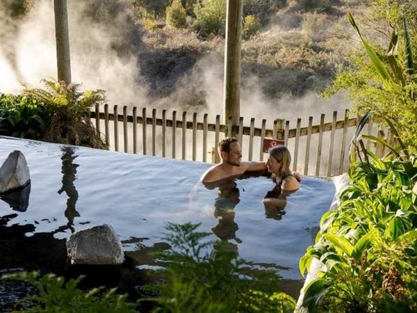 Unique Camping Spots with Hot Pools