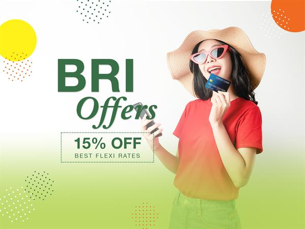 BRI Credit Card Promotion