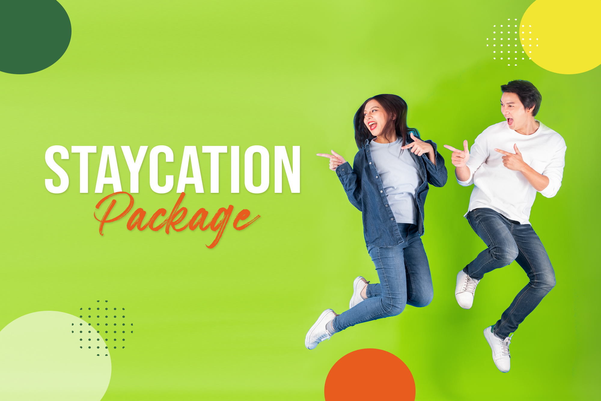 Staycation Sale!