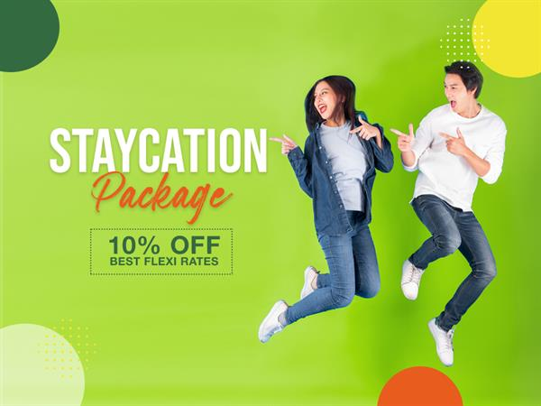 Staycation Sale Diperpanjang!