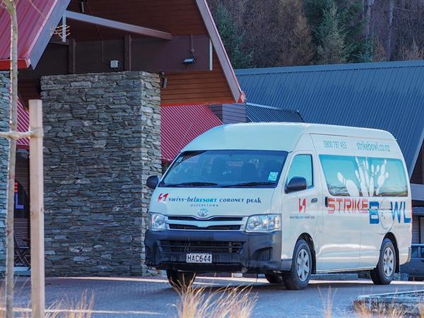 Shuttle Service Swiss-Belresort Coronet Peak, Queenstown, New Zealand