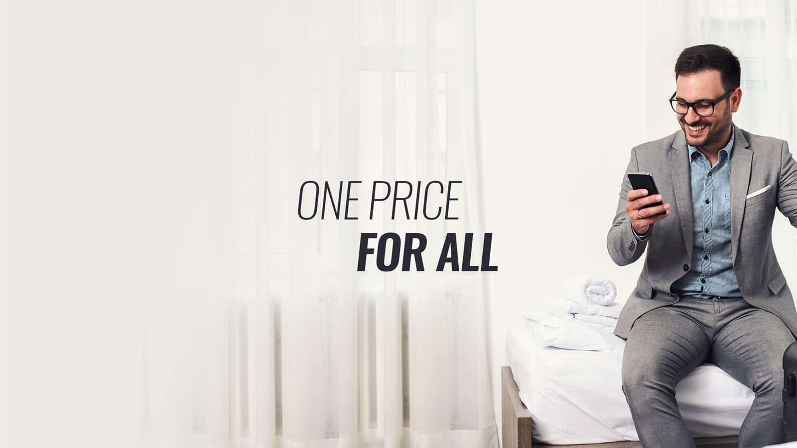 ONE PRICE FOR ALL