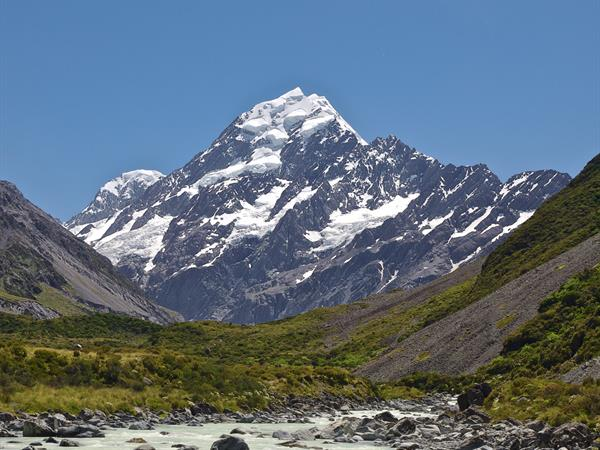 Mount Cook Airport <i>flying to/from</i> Jollie (Littles Hut) InFlite Charters Transfers