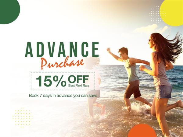 Advance Purchase - 15% OFF!