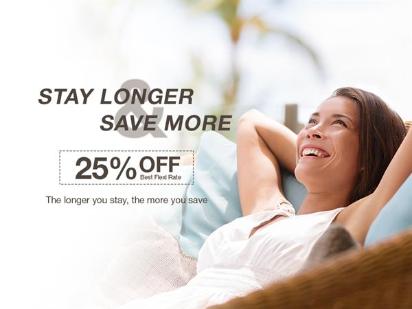 Stay Longer and Save More - 4 Nights