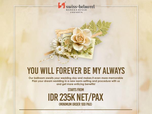 "Wedding ""New Normal"" di Swiss-Belhotel Mangga Besar Swiss-Belhotel Mangga Besar Jakarta"
