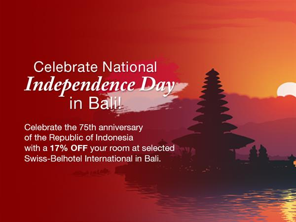 Celebrate National Independence Day in Bali!