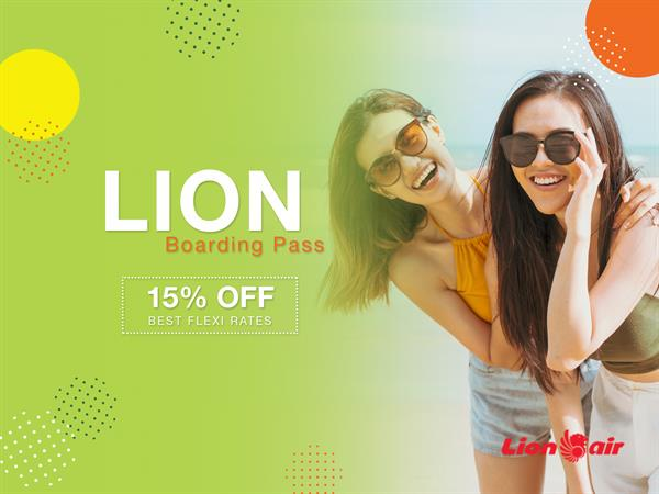 Lion Air Boarding Pass
