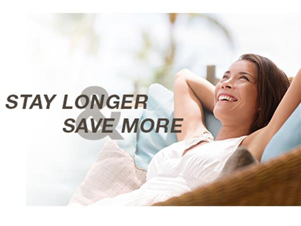 Stay Longer, Save More - 40% OFF