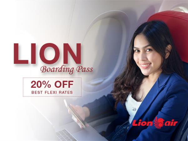 Lion Air Boarding Pass Promotion