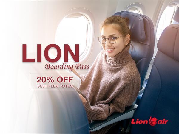 Lion Air Boarding Pass