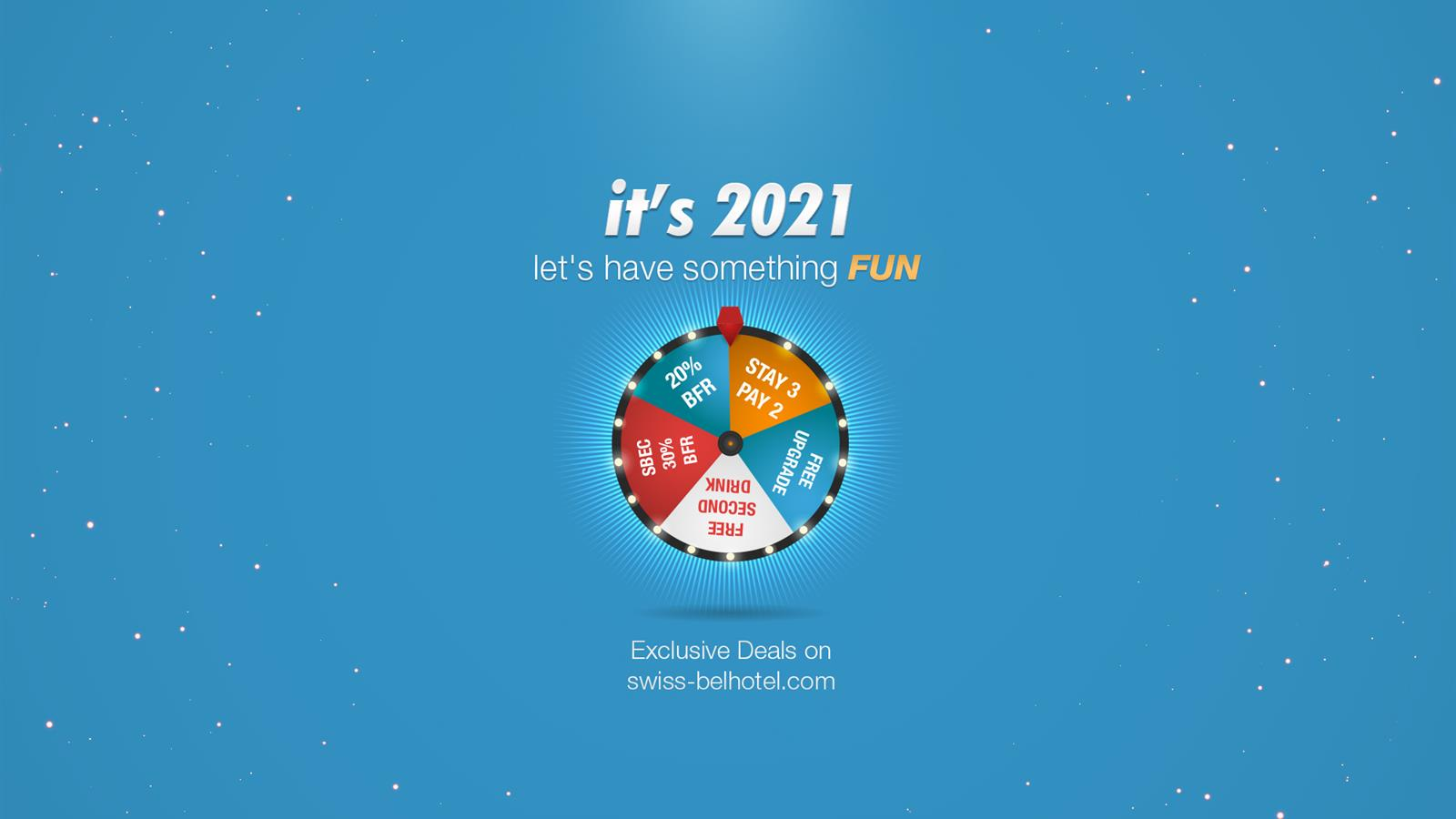 It's 2021 - Let's Have Something Fun!
