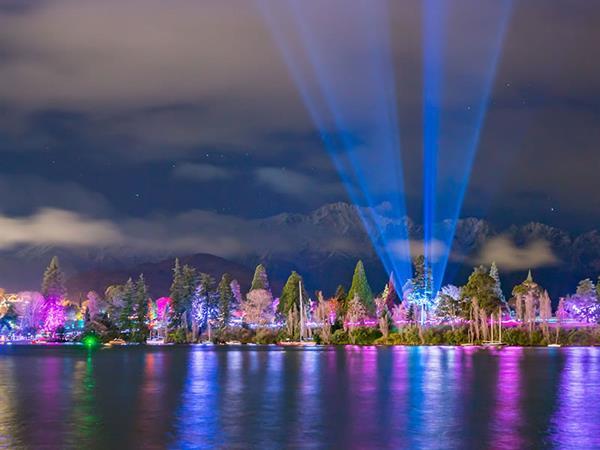 LUMA Light Festival Trust - 4 to 7 Jun '21 Swiss-Belresort Coronet Peak, Queenstown, New Zealand