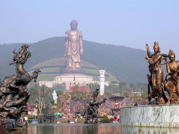 Grand Buddha at Ling Shan Swiss-Belhotel Liyuan, Wuxi
