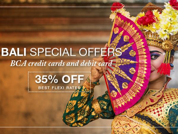 Bali Special Offers - 35% OFF!