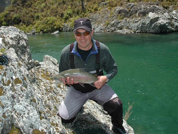 Wilderness Helicopter Fly Fishing