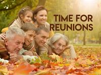 Time for Reunions - up to 40% OFF