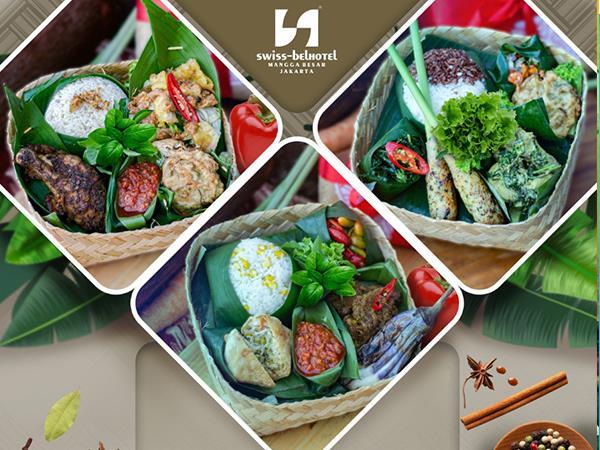 Meal Basket untuk Hari Pernikahan Swiss-Belhotel Mangga Besar Jakarta