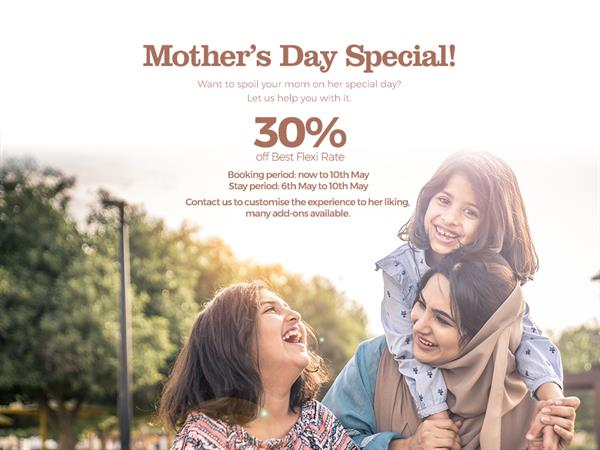 Mother's Day - up to 30% OFF