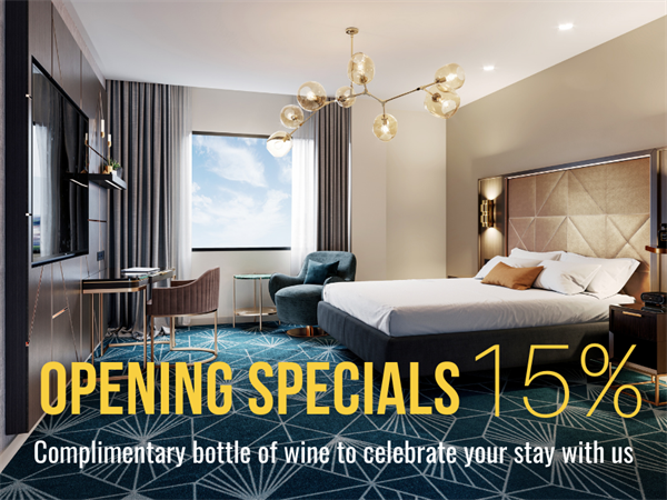 Opening Specials - 15% OFF + Free Bottle of Wine Swiss-Belboutique Napier