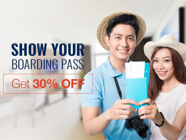 Boarding Pass Promotion - Up to 30% OFF