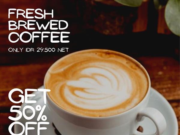 Fresh Brewed Coffee Swiss-Belresort Pecatu