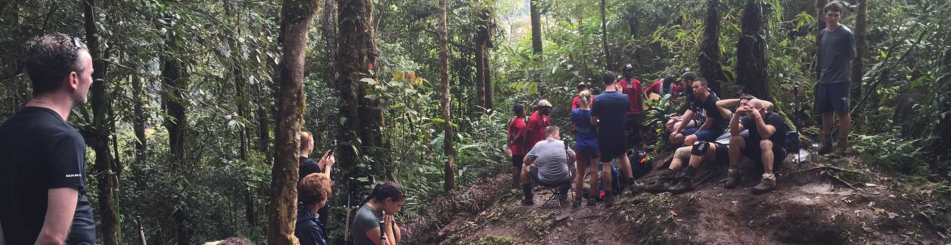 Kokoda Track Authority Trek The Trail In Papua New Guinea Diagram Of Parts John P Grace Memorial Bridge